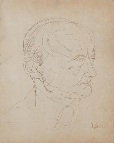 Jankiel Adler, Portret Szymona Syrkusa