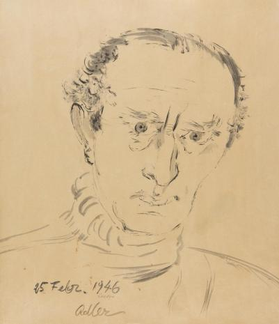 Jankiel Adler, Autoportret