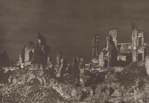 Rynek Starego Miasta, z cyklu: Warszawa 1945