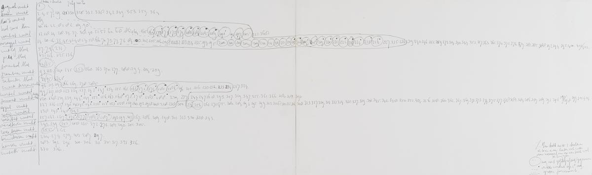 Hans de Vries, Bez tytułu (schemat), z cyklu