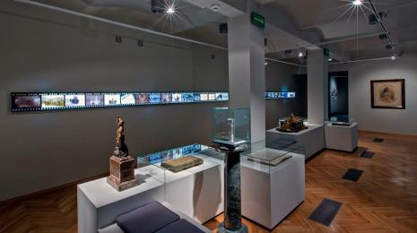 zdjęcie przestrzeni na wystawie