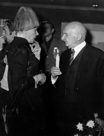 Teresa Tyszkiewicz i Henryk Stażewski