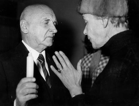 Henryk Stażewski i Teresa Tyszkiewicz