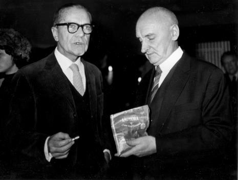 Z prawej Henryk Stażewski