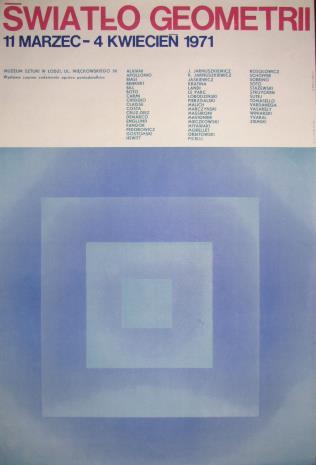 [Plakat] Światło geometrii [...]