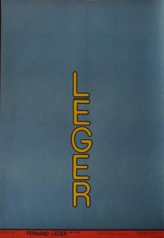 [Plakat] Fernand Léger 1881 - 1955 […]