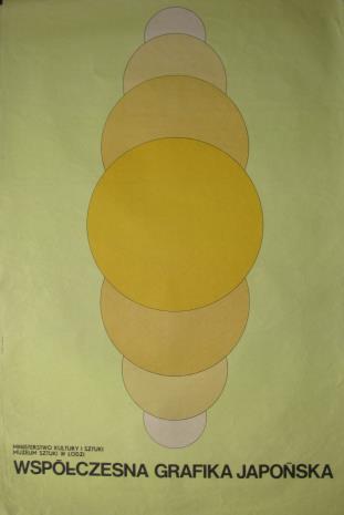 [Plakat] Współczesna grafika japońska […]