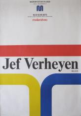 [Plakat] Jef Verheyen. Malarstwo […]