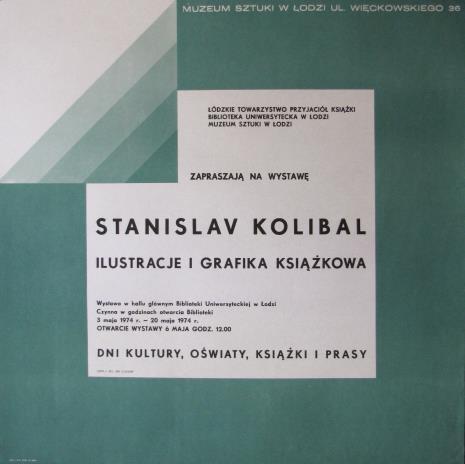 [Plakat] Stanislav Kolibal. Ilustracje i grafika książkowa […]