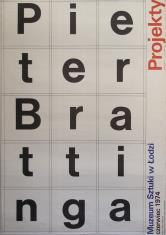 [Plakat]  Pieter Brattinga. Projekt […]