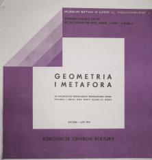 [Plakat] Geometria i metafora na najlepszych przykładach współczesnej sztuki polskiej i obcej dwa nurty sztuki XX wieku […]