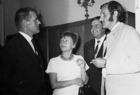 Z prawej Zbigniew Gostomski