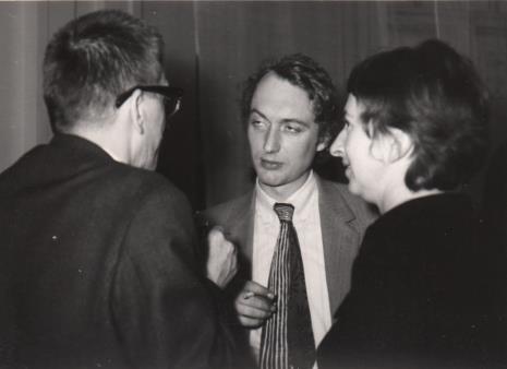 Alain Jacquet, dyr. Ryszard Stanisławski, Hanka Ptaszkowska (Galeria Foksal w Warszawie)