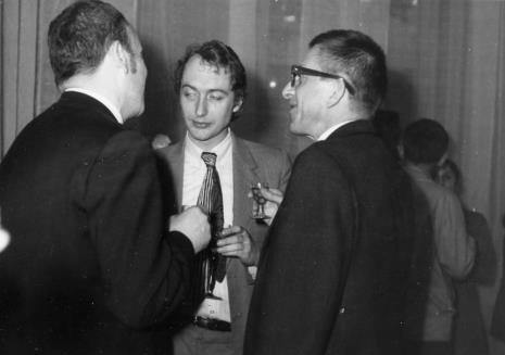 Od lewej x, Alain Jacquet, dyr. Ryszard Stanisławski
