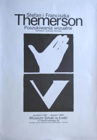 [Plakat]  Stefan i Franciszka Themerson. Poszukiwania wizualne […]