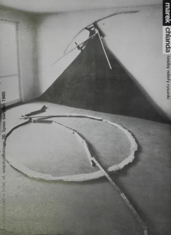 [Plakat] Marek Chlanda. rzeźby, reliefy, rysunki. […]