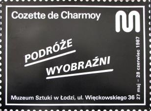 [Plakat] Cozette de Charmoy. Podróże wyobraźni […]
