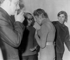 Od lewej Antoni Starczewski, Stanisław Fijałkowski, Teresa Tyszkiewicz, x, Od lewej Antoni Starczewski, Stanisław Fijałkowski, Teresa Tyszkiewicz, x,