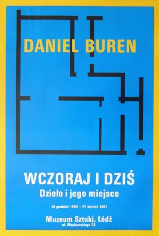 [Plakat] Daniel Buren. Wczoraj i dziś. Dzieło i jego miejsce […]