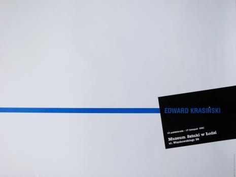 [Plakat] Edward Krasiński […]