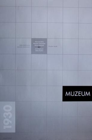 [Plakat] 1930 Muzeum […]
