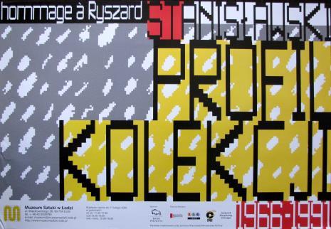 [Plakat] Profil kolekcji 1966 - 1991. Hommage a Ryszard Stanisławski […]