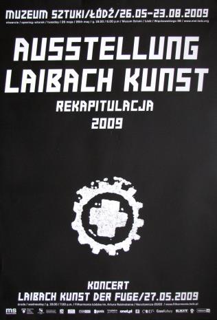 [Plakat] Ausstellung Laibach Kunst – Rekapitulacja 2009 […]