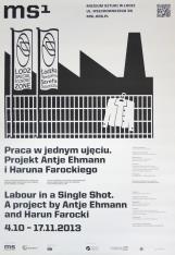 [Plakat]  Praca w jednym ujęciu (projekt Antje Ehmann i Haruna Farockiego) […]