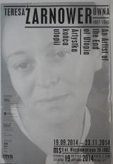 [Plakat] Teresa Żarnowerówna 1897-1949. Artystka końca utopii […]