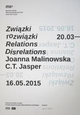 [Plakat]  C.T. Jasper, Joanna Malinowska. Związki rozwiązki […]