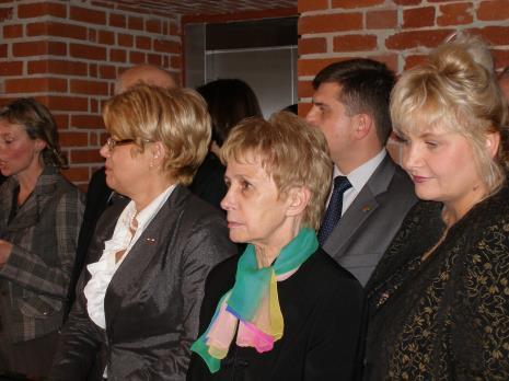 Wojewoda Jolanta Chełmińska, poseł Iwona Śledzińska-Katarasińska, wicemarszałek województwa łódzkiego Elżbieta Nawrocka