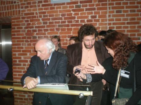 Richard Demarco, Krzysztof Noworyta (Narodowe Centrum Kultury)