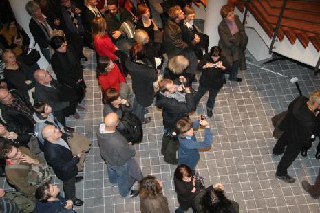 Publiczność w nowym budynku ms2