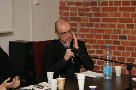 Jarosław Lubiak (kierownik Działu Sztuki Nowoczesnej)