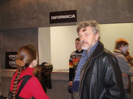 Z prawej Wiesław Karolak