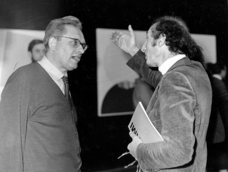 Bolesław Utkin i Eugenio Carmi