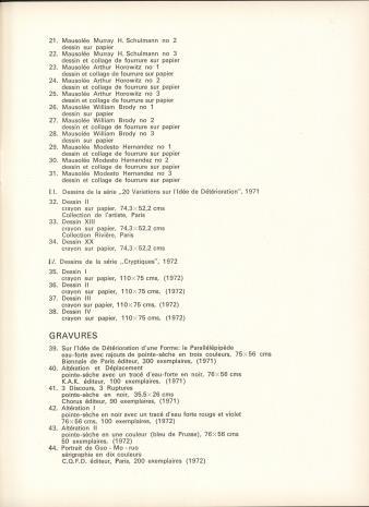 Gerard Titus-Carmel : Muzeum Sztuki w Łodzi [23 maja - 25 czerwca] 1972