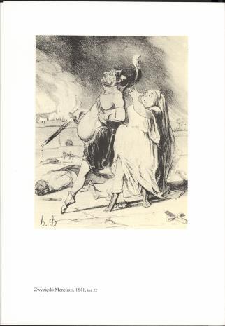 Honoré Daumier : litografie 1833-1860 ze zbiorów Biblioteki Zakładu Narodowego im. Ossolińskich we Wrocławiu : [katalog wystawy], grudzień 1992 - styczeń 1993, Muzeum Sztuki w Łodzi, Galeria