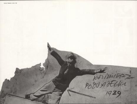 Janusz Maria Brzeski, Kazimierz Podsadecki - z pogranicza plastyki i filmu [1923-1936 : wystawa], Muzeum Sztuki w Łodzi, październik 1980 - styczeń 1981
