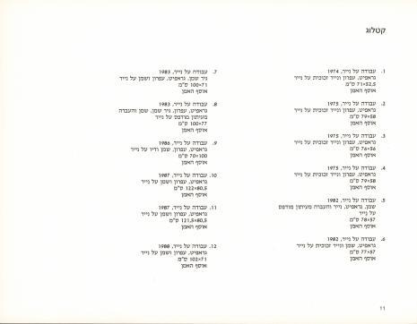 Moshe Kupferman : prace na papierze, malarstwo, Muzeum Sztuki, Łódź, 12 stycznia - 28 lutego 1993, Centrum Sztuki Współczesnej, Warszawa, 13 stycznia - 28 lutego 1993 we współpracy [z:] Tel Aviv Museum of Art = Moshe Kupferman : works on paper, painting