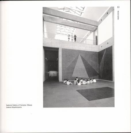 Muzeum : architektura wobec sztuki : w poszukiwaniu consensusu
