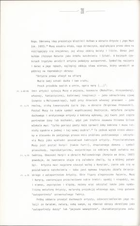 Ogień niestrzeżony : pracownie malarzy polskich XIX i początku XX wieku : część II.