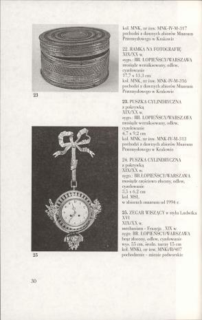 Okruchy brązu : brązy z warszawskiej firmy