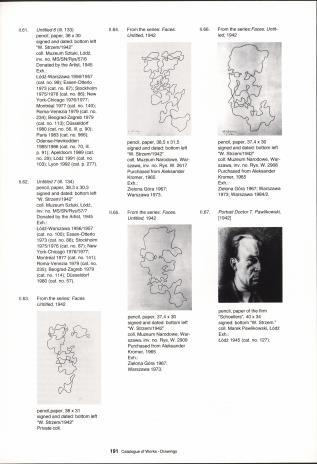 Władysław Strzemiński 1893-1952 :  on the 100th anniversary of his birth : Muzeum Sztuki, Łódź 25 November 1993 - 16 January 1994