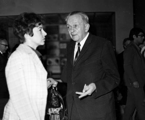 Zofia Borowicz i Jan Brzękowski
