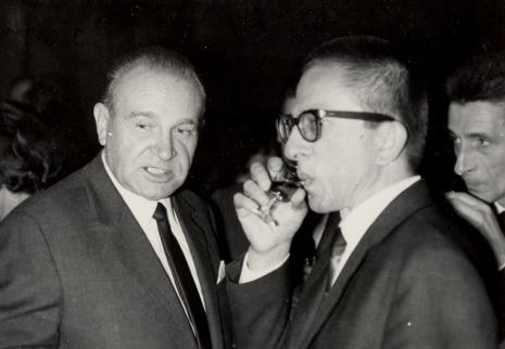 Edward Kaźmierczak (przewodniczący Rady Narodowej w Łodzi) i dyr. Ryszard Stanisławski