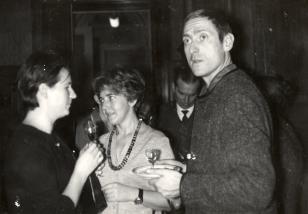 Od lewej x, Anna Kotynia i Bogusław Kowalewski (ms)