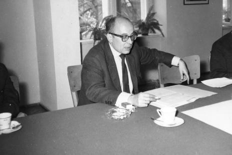 Kustosz Mieczysław Potemski (Dział Sztuki Dawnej)