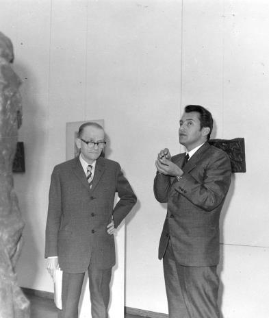 7. red. Roman Janisławski (PAP) i Petr Hartmann (Národni Galerie Praha)