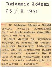 W łódzkim Muzeum Sztuki otwarto wystawę [...]